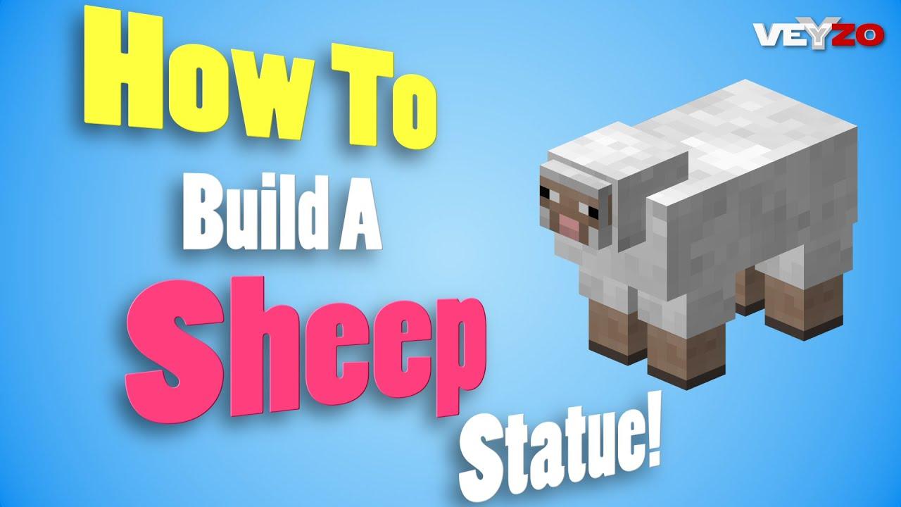 How To Vuild Minecraft Sheep Head - Exploring Mars