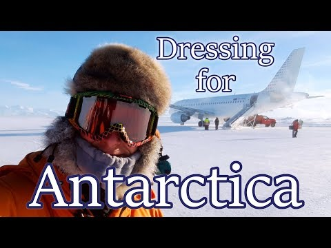Dressing For Antarctica - How To Dress For The Cold