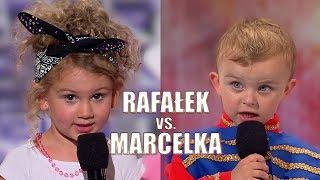 Rafałek vs Marcelka! Najmłodsi uczestnicy programu! [Mam Talent!]
