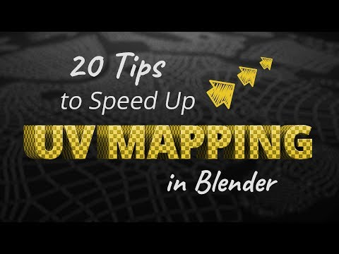 20 Tips to Speed Up UV Mapping in Blender