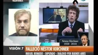 Visión Siete: Falleció Néstor Kirchner (46)