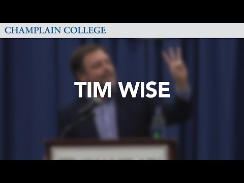 An Evening with Tim Wise | Champlain College