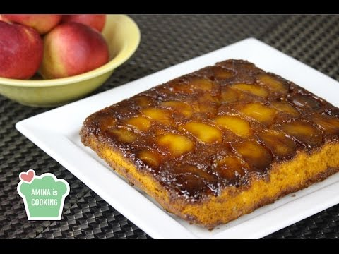 Upside Down Apple Cake - Episode 121 - Amina Is Cooking
