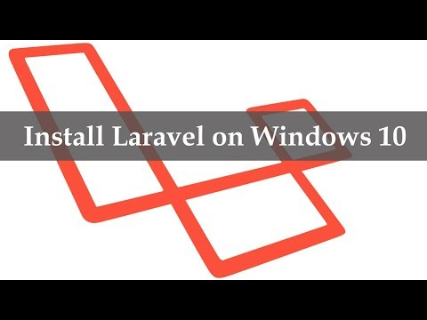 How to Install Laravel on Windows 10 - YouTube