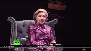 Клинтон задела реклама RT в лондонском метро