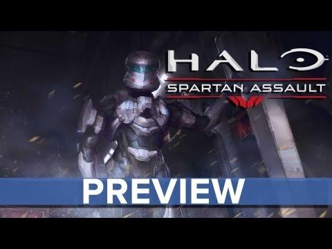 Halo: Spartan Assault - Preview - Eurogamer