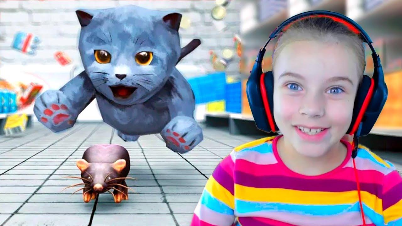видео игру симулятор кошки