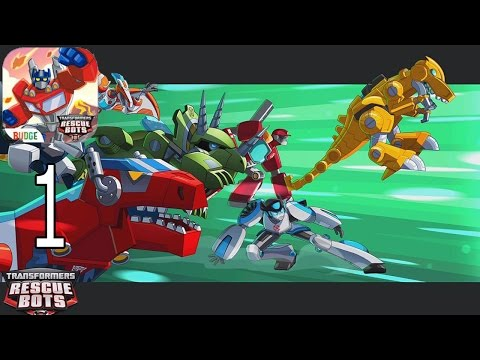 Transformers Rescue Bots: Disaster Dash Hero Run - IPhone Gameplay Walkthrough Part 1