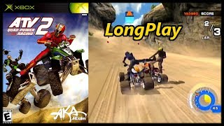 ATV: Quad Power Racing 2 - Longplay (Xbox) Career & Arcade Full Game Walkthrough (No Commentary)