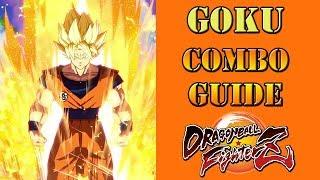 Dragon Ball FighterZ - Super Saiyan Goku Combo Guide