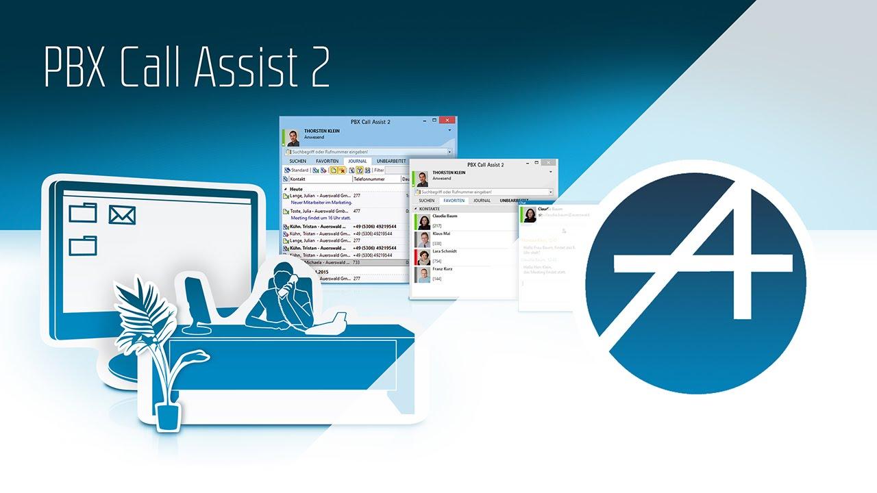 PBX Call Assist 2 - unsere neue CTI Software