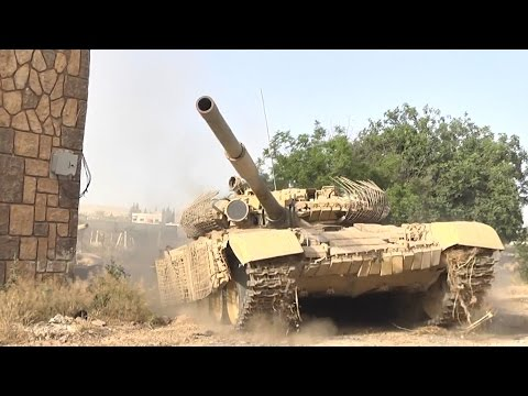 Syrian tanks with Russian active protection system vs TOW missilesиз YouTube · Длительность: 54 с