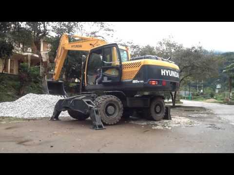 Video Kolové rypadlo HW 180