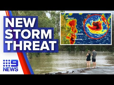 Tropical cyclone brewing off Australia's east coast | Nine News Australia