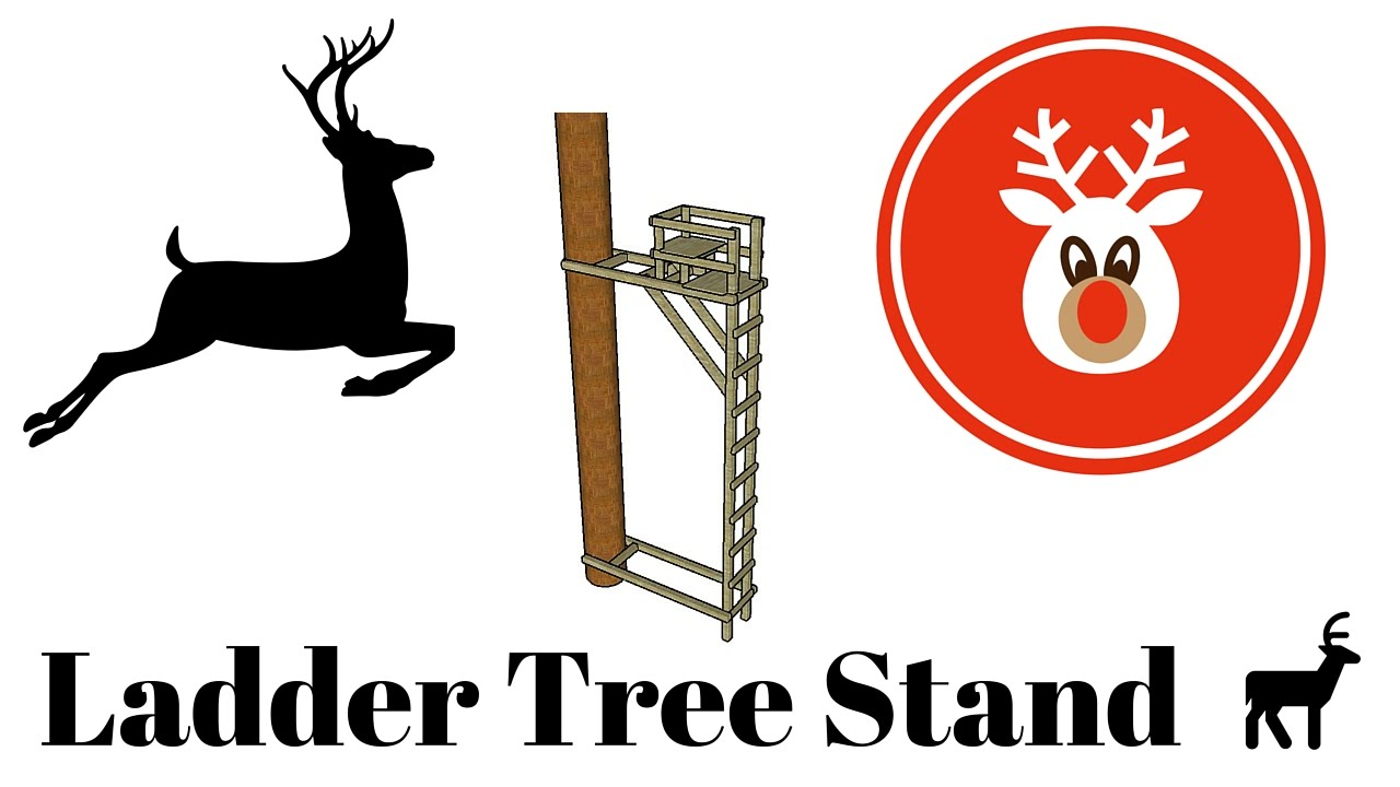 Ladder tree stand plans youtube for Ladder tree stand plans