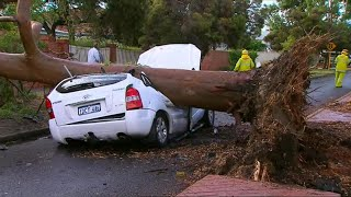 Wa Told To Brace For More Heavy Rain And Damaging Winds