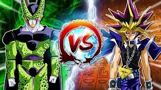reaction to dragon ball z abridged cell vs yugi