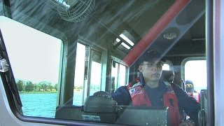 A Ride with the Coast Guard Reserve