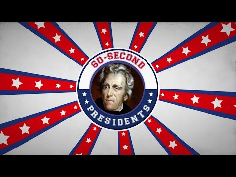 Andrew Jackson  60Second Presidents  PBS