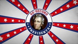 Andrew Jackson | 60-Second Presidents | PBS