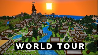 My Minecraft Survival World Tour