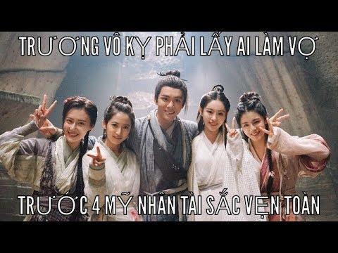 Trương Vô Kỵ lấy ai làm vợ trong 4 cô gái: Ân Ly, Triệu Mẫn, Chu Chỉ Nhược, Tiểu Chiêu.