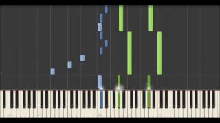 Yann Tiersen - Le Moulin (Synthesia Tutorial)