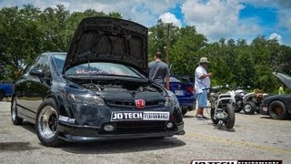 "JoTech Performance - Black Widow Si ""World's Fastest ALL MOTOR 8th Gen Civic"" Thumbnail"