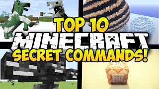 Minecraft command block commands - my top 10 secret for minecraft! it has commands, & more! leave a like fo...