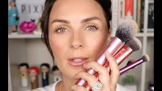 Everyday Essentials Brush Set Natural Makeup Tutorial | Real Techniques