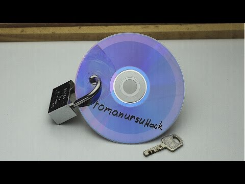 HOW TO MAKE A SECRET STASH FROM CD'S