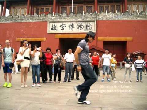SIGNATURE - BEIJING CHINA TOUR (Day Off Michael Jackson Style)