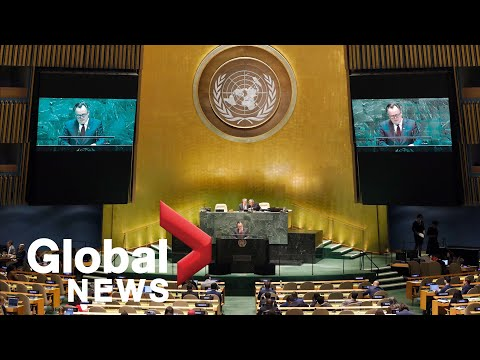 UN holds first virtual annual meeting of world leaders amid COVID-19 pandemic   LIVE