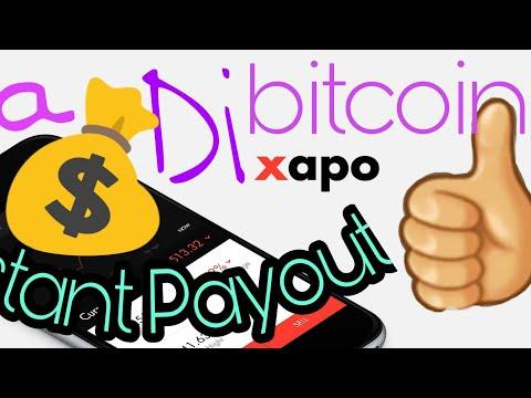 (Langkah 1 : Registrasi Akun Xapo) Cara Menambang Bitcoin Instant Payout Ke Xapo Terbukti Membayar!