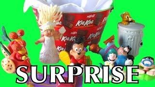 Kids Meal Happy Meal Surprise Collection Goofy Disney Aladdin Cabbage Patch Oliver and Company