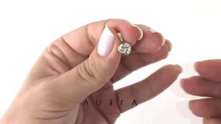 fdee30ef3d5 Pingente de ouro 18k coração pedra Aubra Joias ...