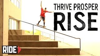 All I Need Skateboarding Presents Thrive Prosper Rise