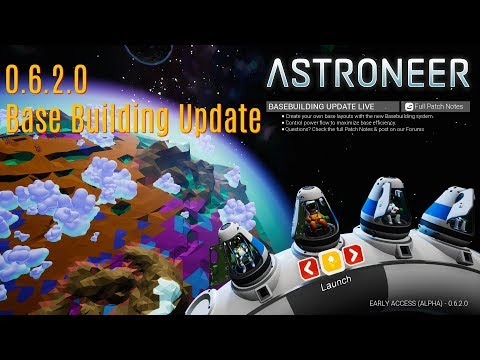 Astroneer 0.6.2.0 #22 Heading off around the planet