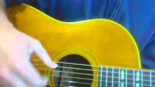 Gibson Acoustic Guitar In Altered Tuning DADGCD with Steve Zook SOLD