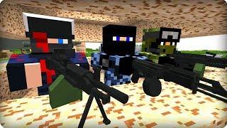 💪Эти военные держались как могли [ЧАСТЬ 30] Зомби апокалипсис в майнкрафт! - (Minecraft - Сериал)
