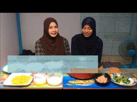 Mee Kari Style Budak Asrama Dapur Bujang