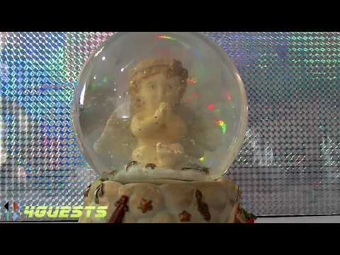 Angel Musical Snow Globe (When You Wish Upon A Star)