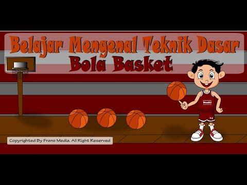 Media Pembelajaran | Teknik Dasar Bola Basket