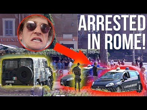 Thumbnail: I GOT ARRESTED BY ITALIAN POLICE! **NOT CLICKBAIT**