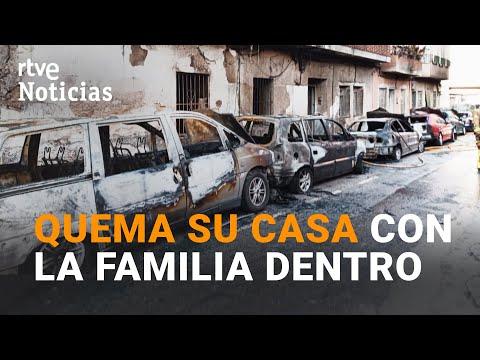 QUEMA a sus padres, 7 coches y DISPARA a la policía en MOLINA DE SEGURA, MURCIA   RTVE noticias