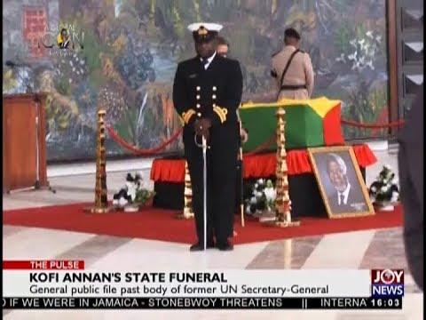 Kofi Annan's State Funeral - The Pulse on JoyNews (11-9-18)