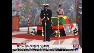 Kofi Annan's State Funeral - The Pulse on JoyNews (11-9-18)