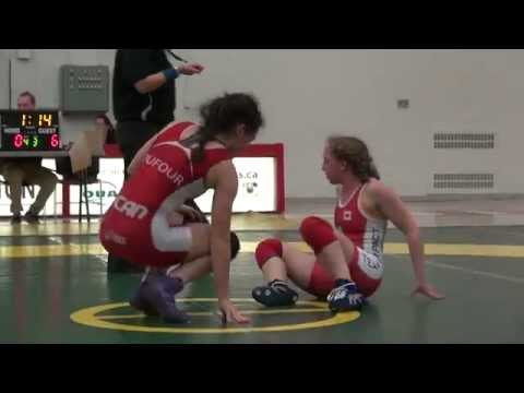 2015 York Open FW48kg Augusta Eve (Impact) vs Jade Dufour (Montreal)