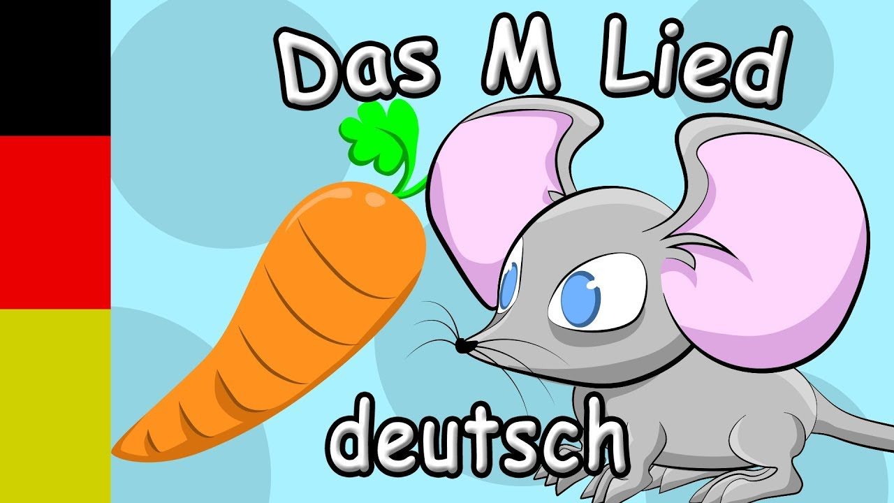 Learn German ABC - The ABC with Lyrics - Letter M Song