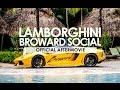 Lamborghini Broward Drive to Seminole Hard Rock Hotel